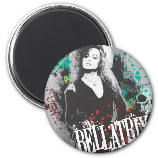 Bellatrix Lestrange Graphic Logo Magnet