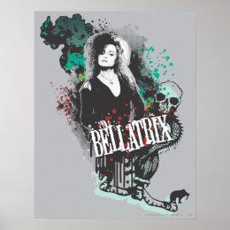 Bellatrix Lestrange Graphic Logo Poster