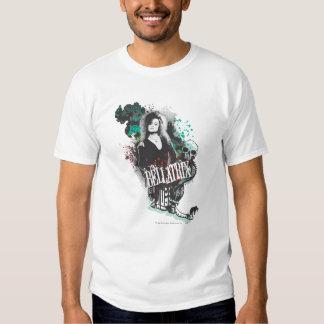 Bellatrix Lestrange Graphic Logo Tee Shirt
