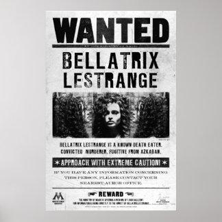 Bellatrix Lestrange quiso el poster