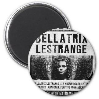 Bellatrix Lestrange quiso el poster Imán Redondo 5 Cm