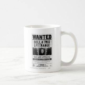 Bellatrix Lestrange Wanted Poster Classic White Coffee Mug