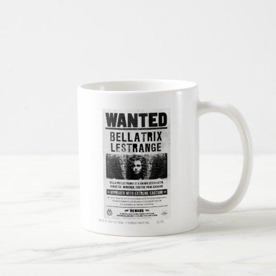 Bellatrix Lestrange Wanted Poster Coffee Mug