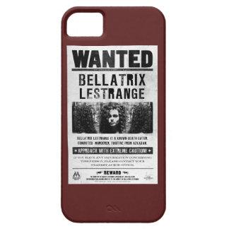 Bellatrix Lestrange Wanted Poster iPhone 5 Cases