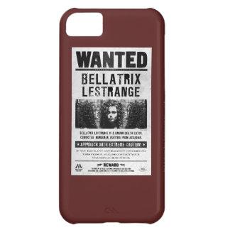 Bellatrix Lestrange Wanted Poster iPhone 5C Cases