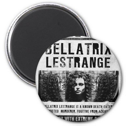 Bellatrix Lestrange Wanted Poster Magnet