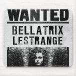 Bellatrix Lestrange Wanted Poster Mouse Pad