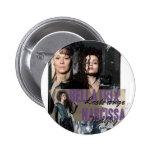 Bellatrix Lestrange y Narcissa Malfoy Pins