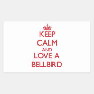 Bellbird Rectangle Stickers