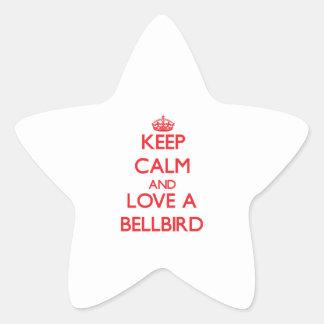 Bellbird Star Stickers