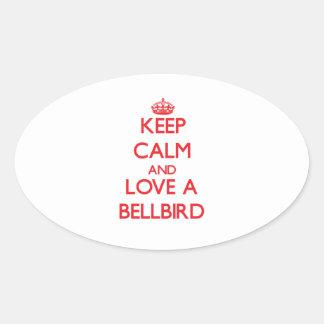 Bellbird Oval Stickers