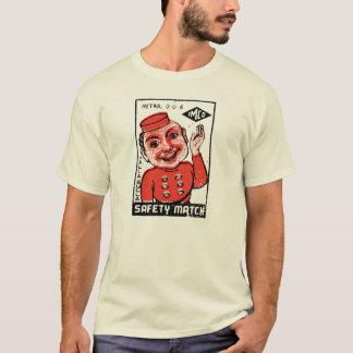 Bellboy Safety Matches - Vintage Graphic T-Shirt