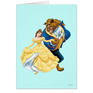 Belle and Beast Card
