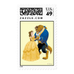 Belle and Beast Dancing Postage Stamps