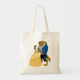 Belle and Beast Dancing Tote Bag