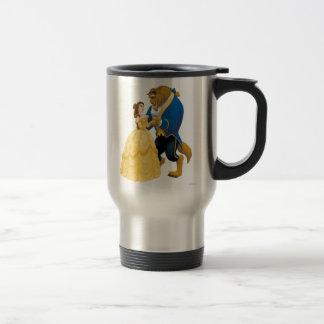 Belle and Beast Dancing Travel Mug