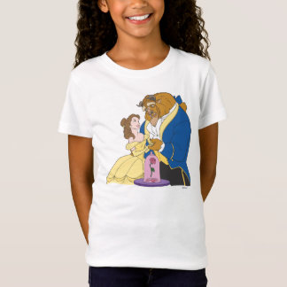Belle and Beast Holding Hands T-Shirt