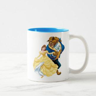 Belle and Beast Two-Tone Coffee Mug