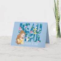 Belle | Beautfiul Inside & Out Card