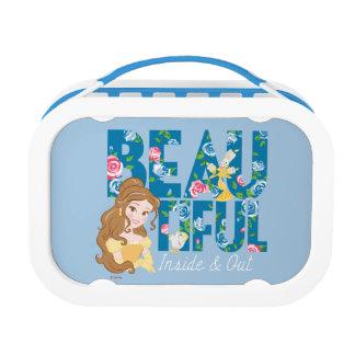 Belle   Beautfiul Inside & Out Lunch Box