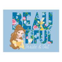 Belle | Beautfiul Inside & Out Postcard