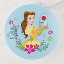 Belle | Belle And Her Christmas Rose Trinket Trays