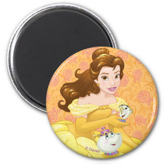 Belle | Besties Chill Together Magnet