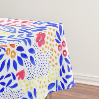 Belle Bold Floral Tablecloth