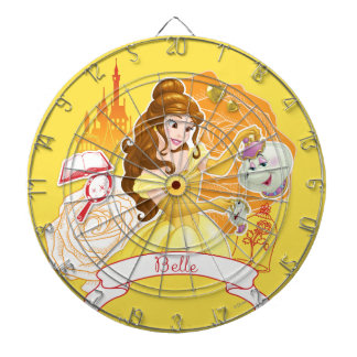 Belle - Caring and Enchanting Dartboard