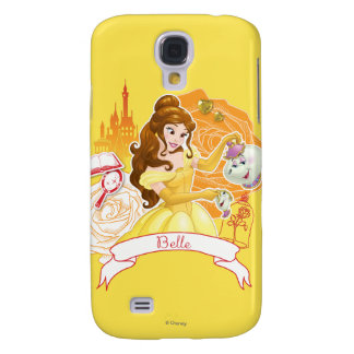 Belle - Caring and Enchanting Samsung Galaxy S4 Case