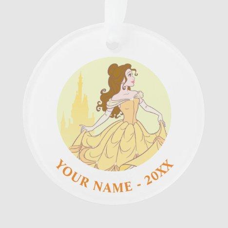 Belle & Castle Graphic Ornament