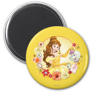 Belle - Compassionate 2 Inch Round Magnet