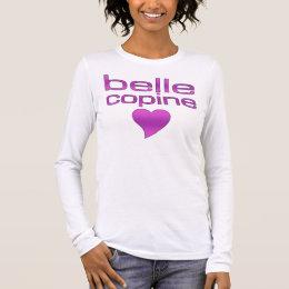 Belle Copine Purple Love Heart Long Sleeve T-Shirt