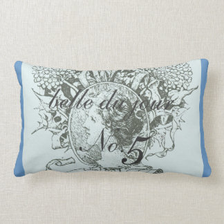 Belle du jour No. 5 Vintage French Throw Pillow
