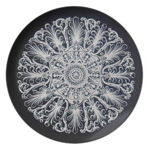 Belle Epoque Art Nouveau Plate