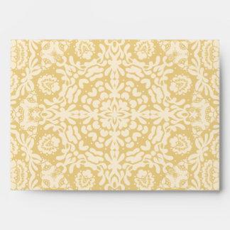 Belle Epoque Gold European Design Envelope