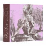 Belle Epoque Notebook for Restaurant, Designer etc 3 Ring Binder