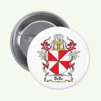 Belle Family Crest Button