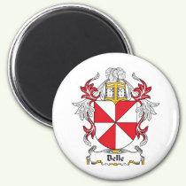 Belle Family Crest Magnet