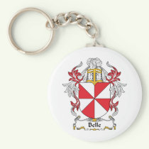 Belle Family Crest Keychain