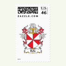Belle Family Crest Stamps