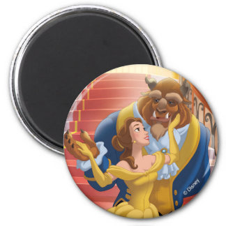 Belle   Fearless 2 Inch Round Magnet