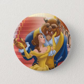 Belle   Fearless Pinback Button