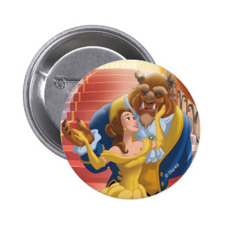 Belle | Fearless Pinback Button