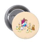 Belle & Friends Buttons