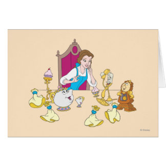 Belle & Friends Greeting Card