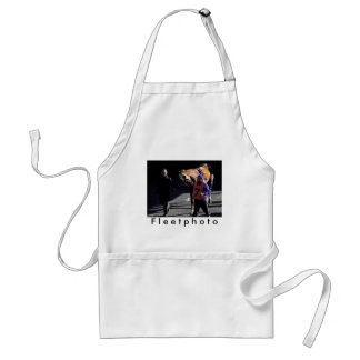Belle Gallantey on New Year's Day Adult Apron
