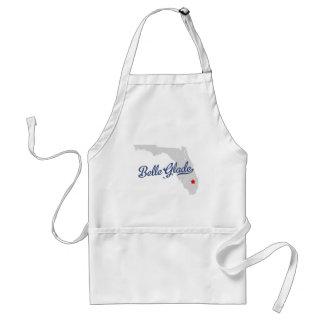 Belle Glade Florida FL Shirt Adult Apron