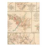 Belle Grove battle Post Card