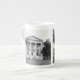 Belle Grove Plantation Louisiana Bone China Tea Cup